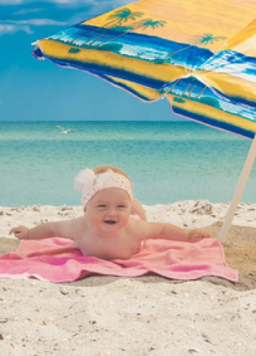 יום כיף בים עם תינוק – אפשר גם להנות מזה
